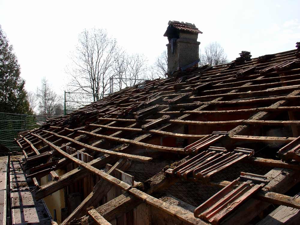 Dach Wagnerhaus | vorher