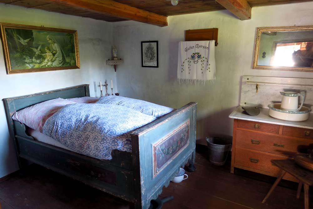 Wagnerhaus Schlafkammer
