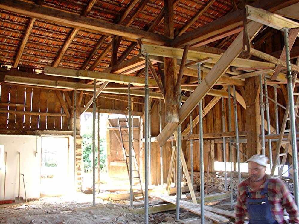 Sanierung Wagnerhaus | Innenaufnahme
