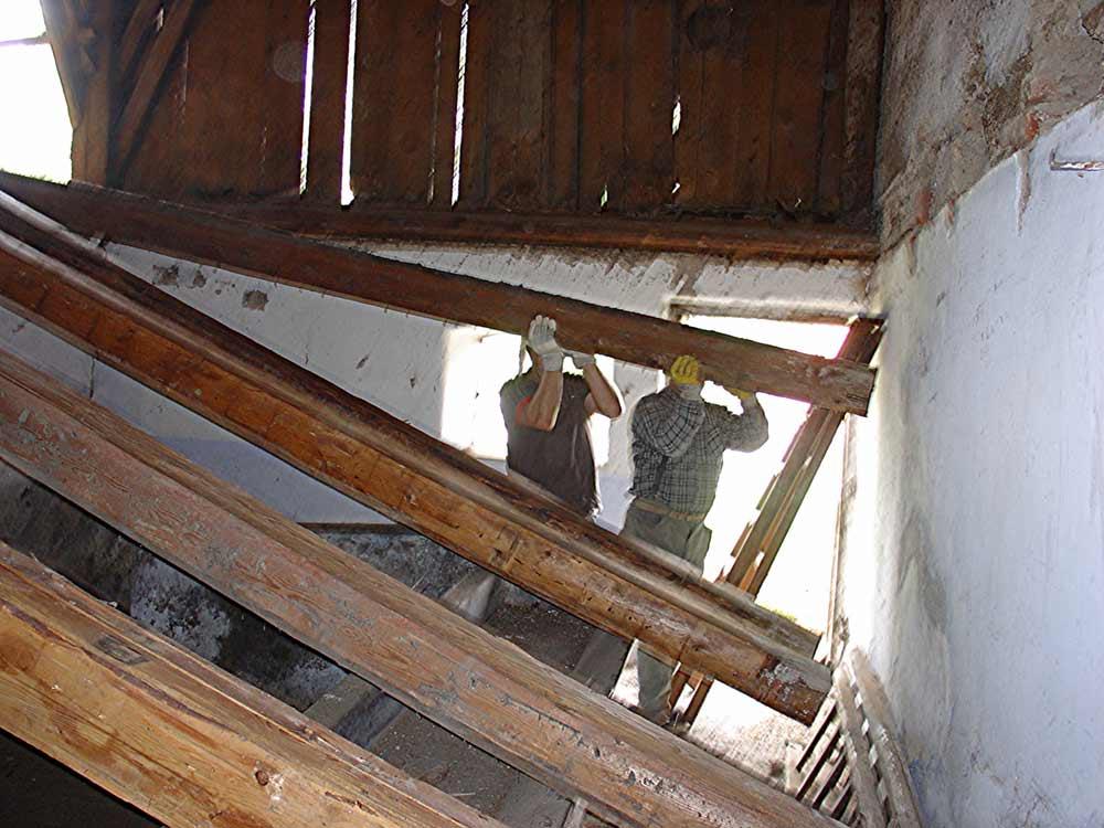 Sanierung Wagnerhaus | innen