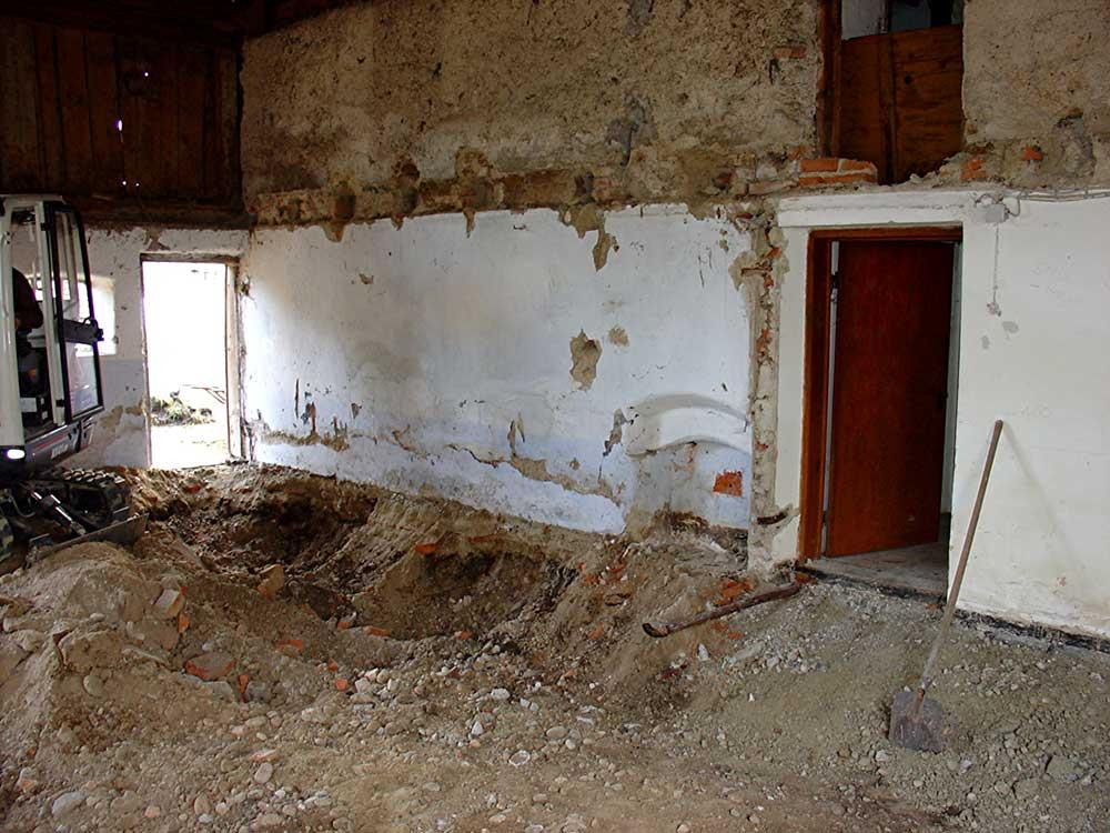 Sanierung Wagnerhaus | vorher