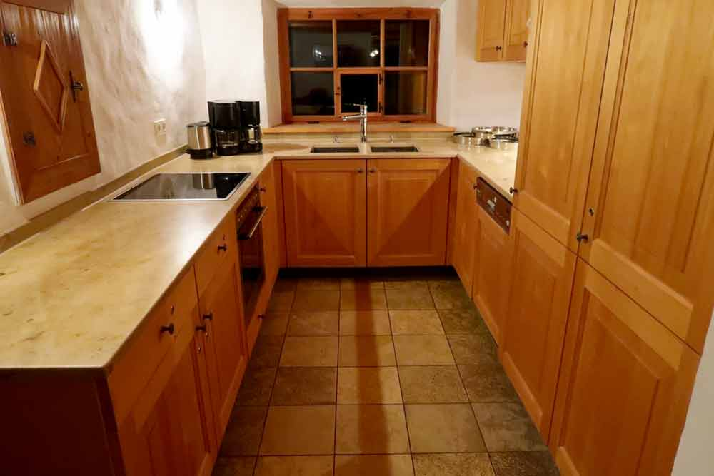 Küche Vermietung Tenne | Wagnerhaus Oberhaching
